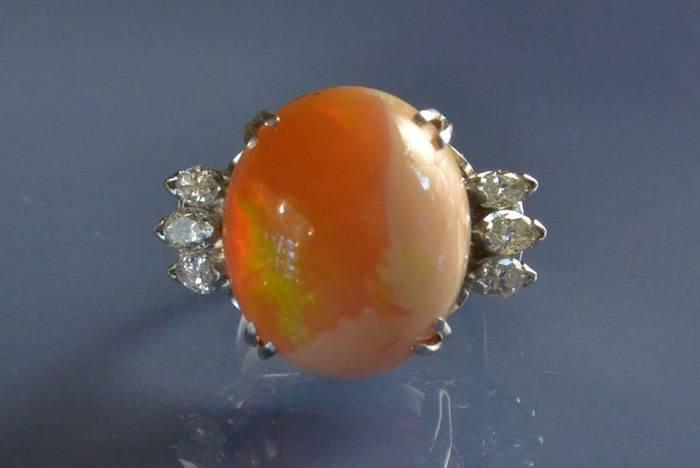 bague opale d'occasion