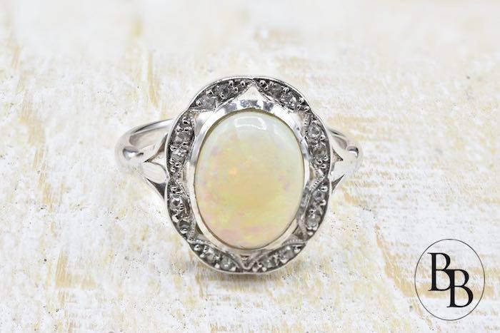 bague d'occasion opale