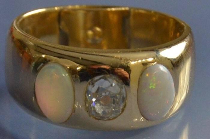 dépot vente bague opale