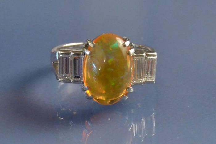achat de bague opale paris