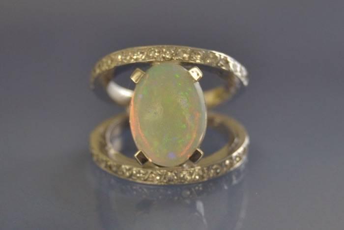 rachat bague opale