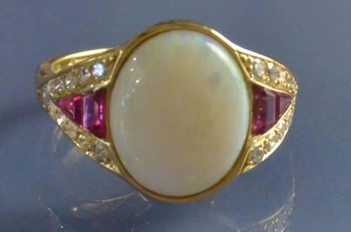 vendre bague opale paris