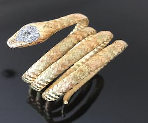 bijoux anciens serpent 19e