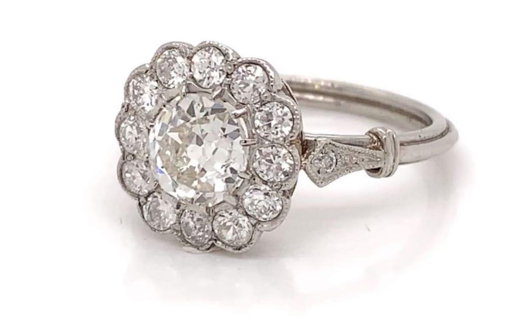 rachat bague de fiançailles diamants