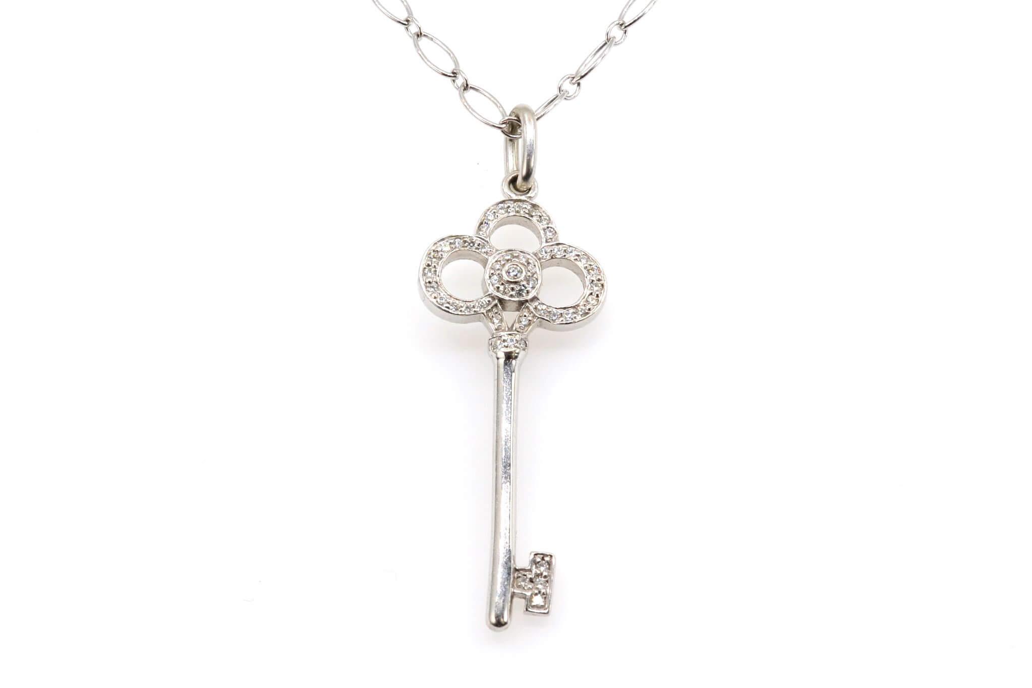collier clé Tiffany & Co