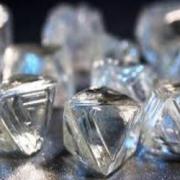pierres précieuses, Le diamant brut de forme Octaèdre
