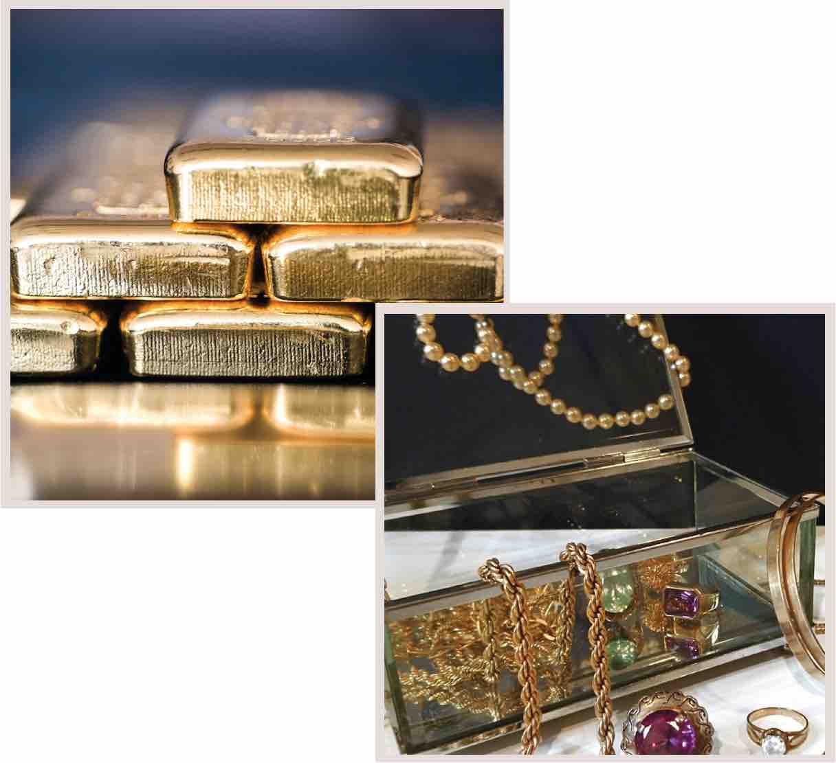 achat lingots et bijoux en or
