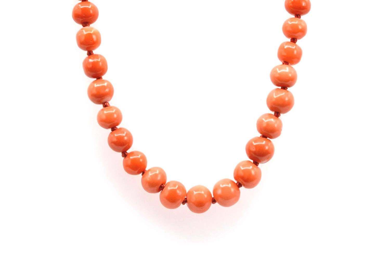 achat de collier en corail