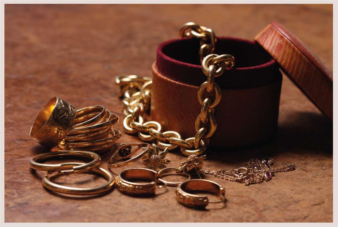 rachat bijoux et lingotins d'or