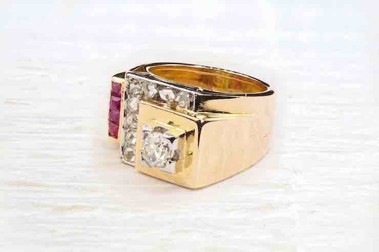 achat bague or