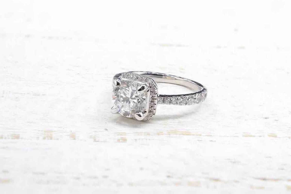 achat de bague diamant en or