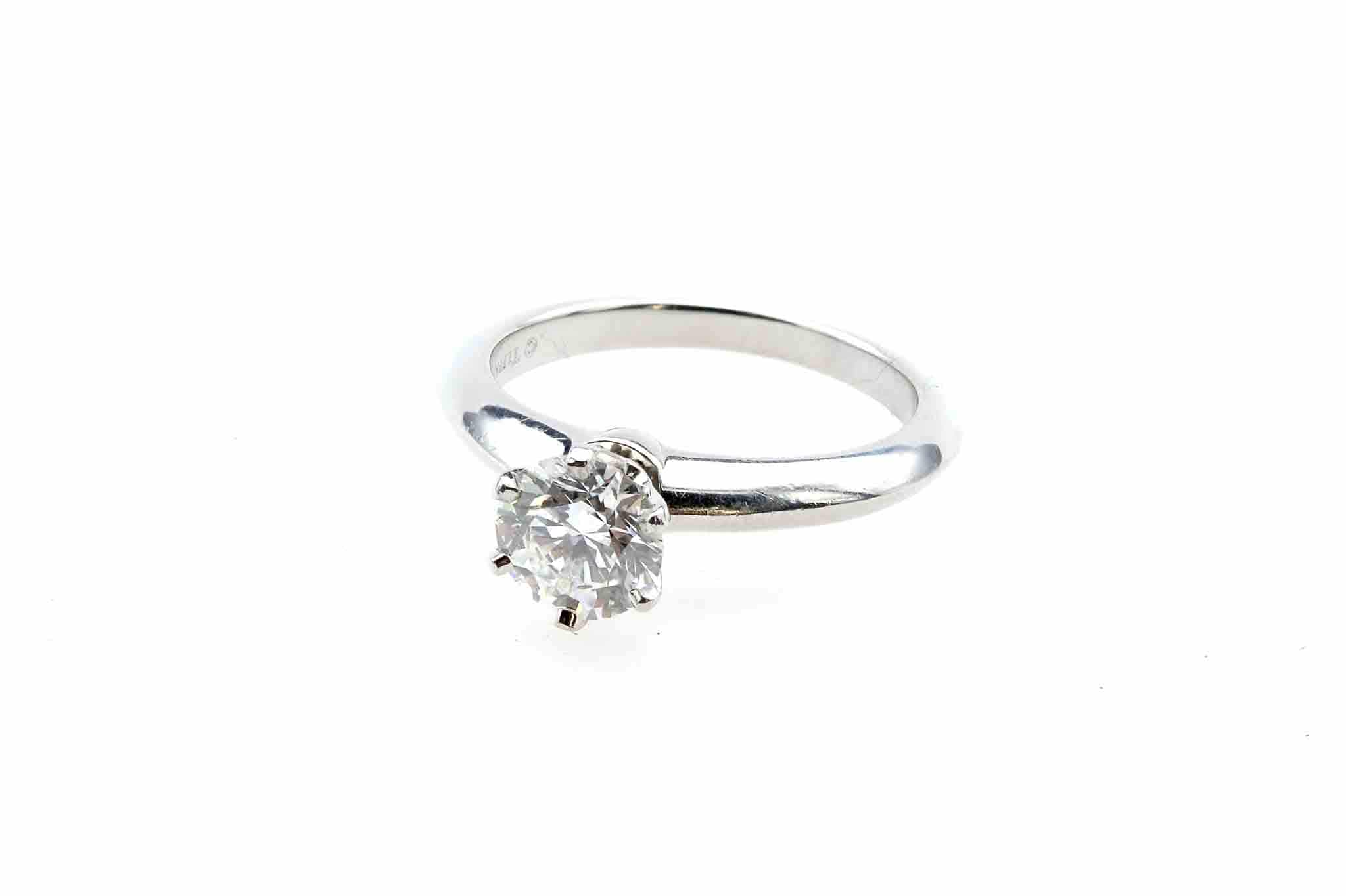 rachat bague solitaire tiffany