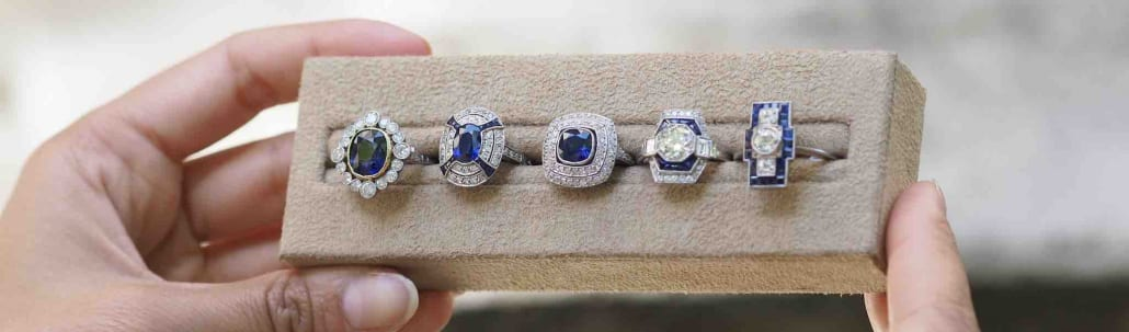 achat bijoux saphirs et diamants