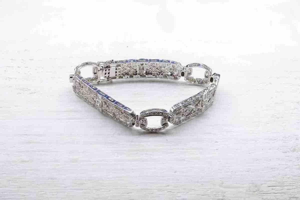 bracelet en vente avec diamants