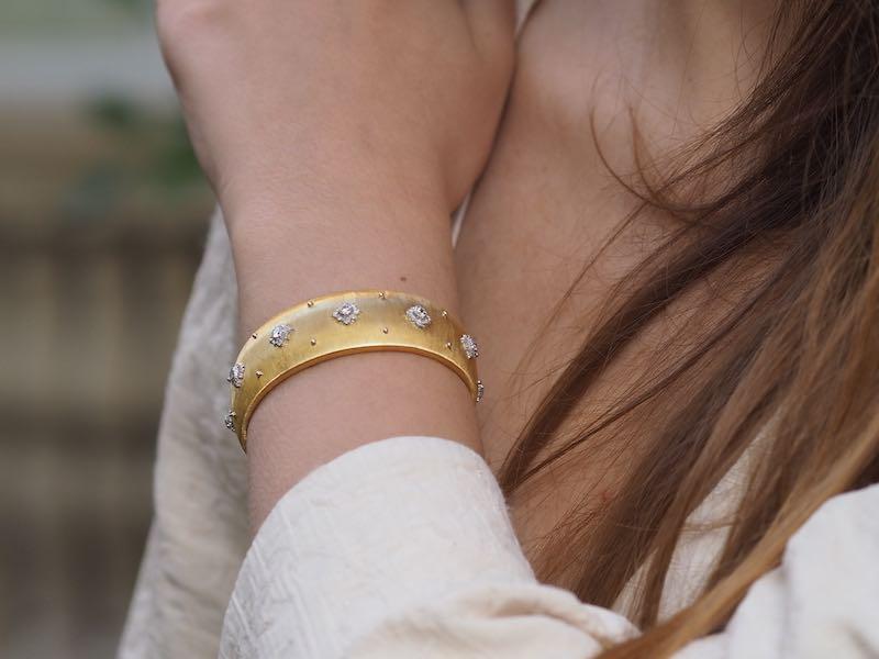 achat de bracelets signés buccellati