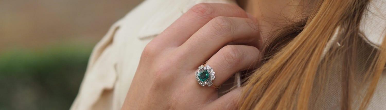achat de diamants et d'émeraude