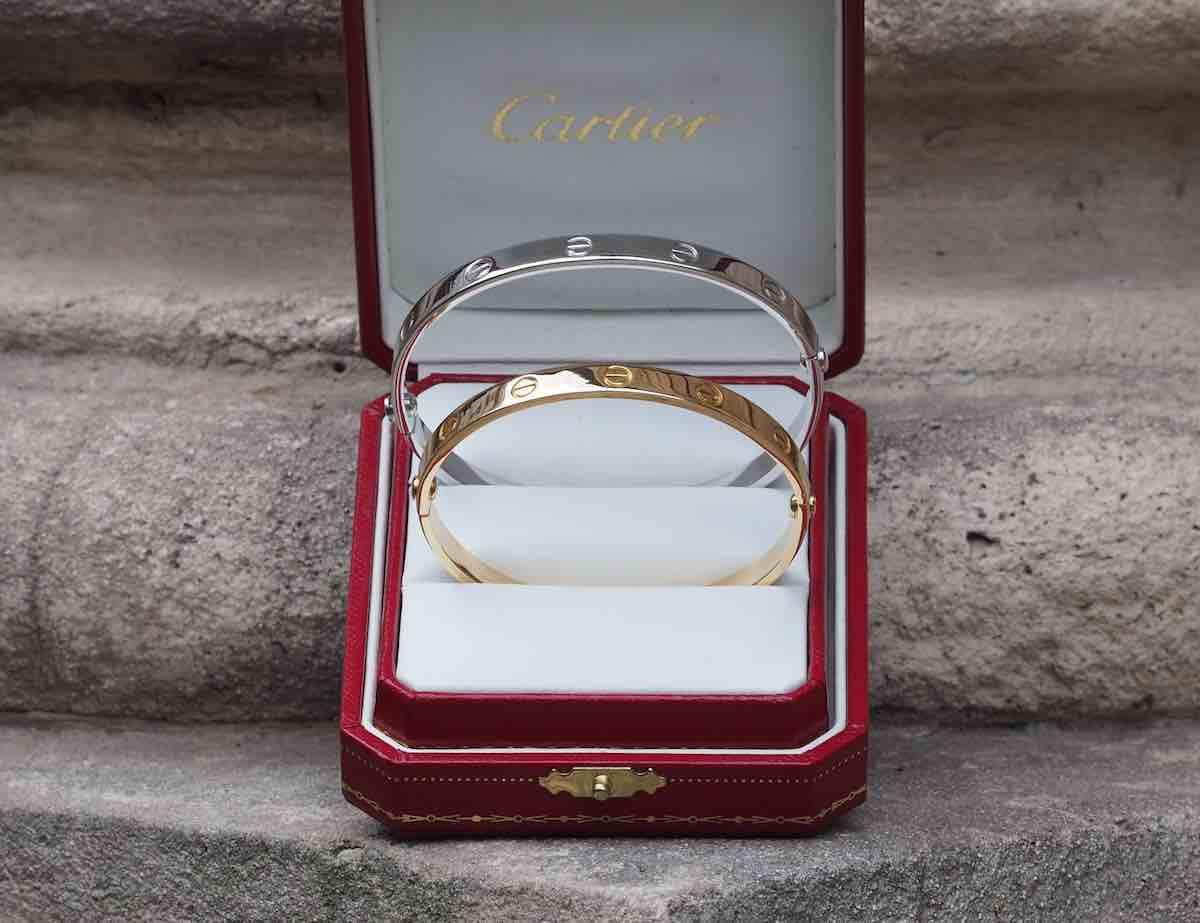 bracelets love cartier en or 18k