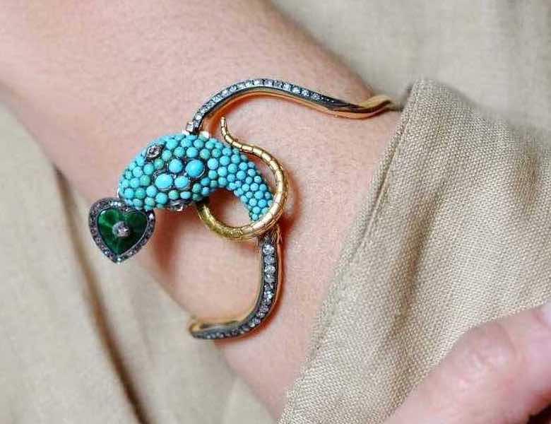 bracelet turquoises naturelles
