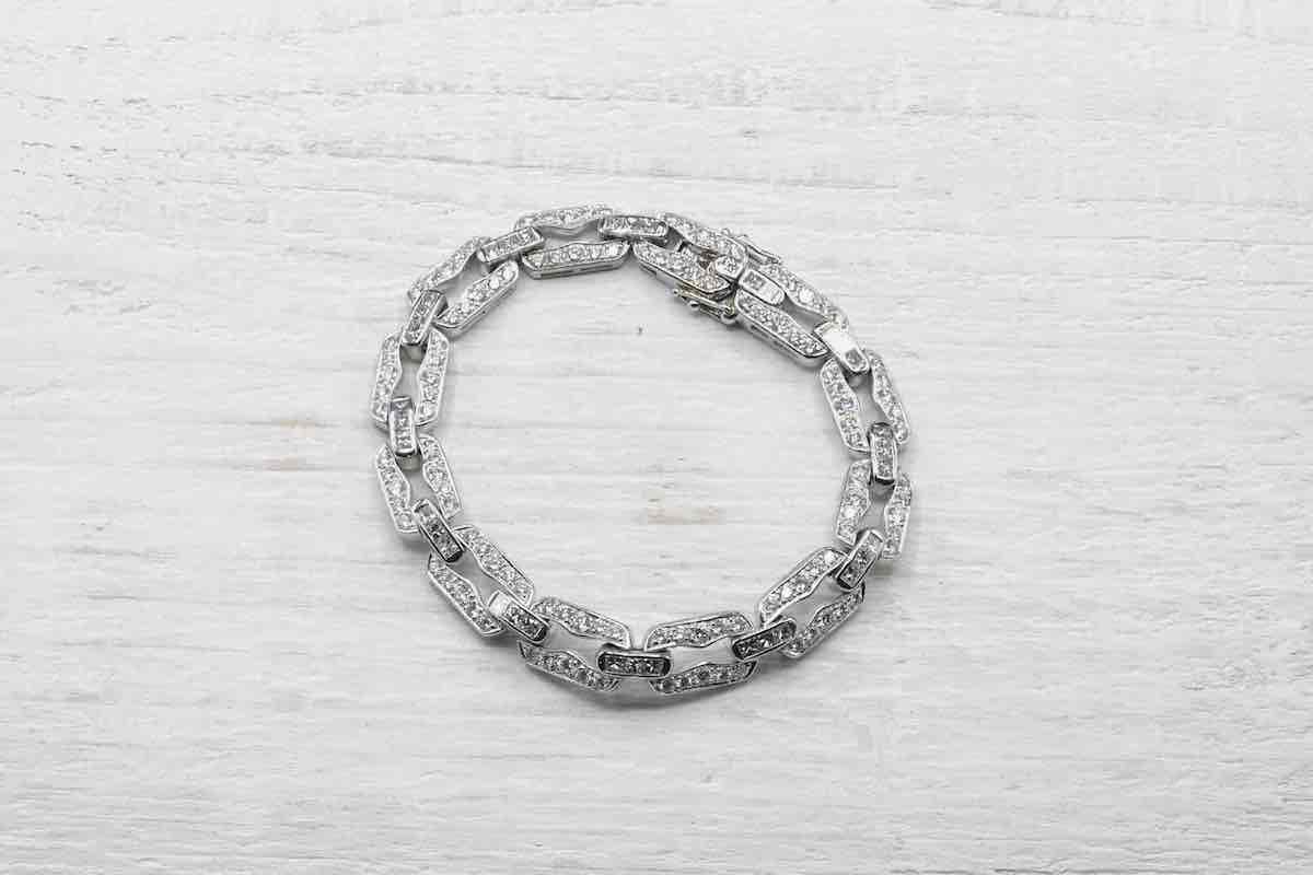 achat bracelet avec diamants