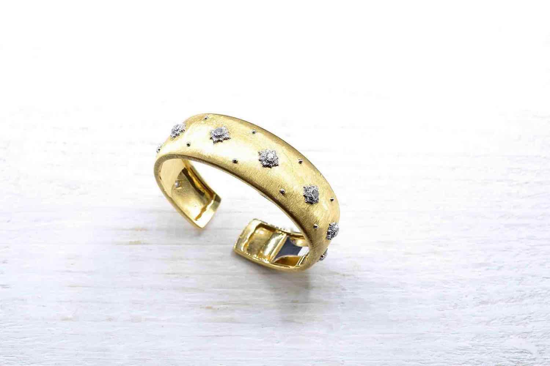 achat bracelet signé or et diamants