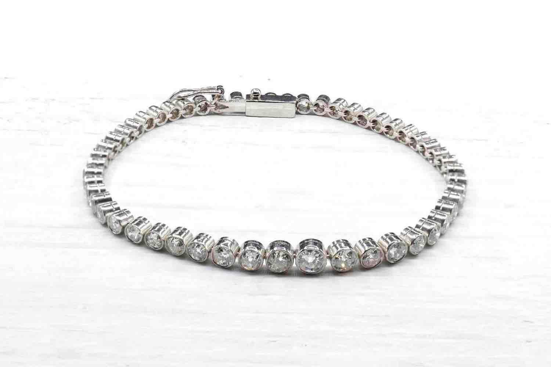 rachat bracelet tour diamants