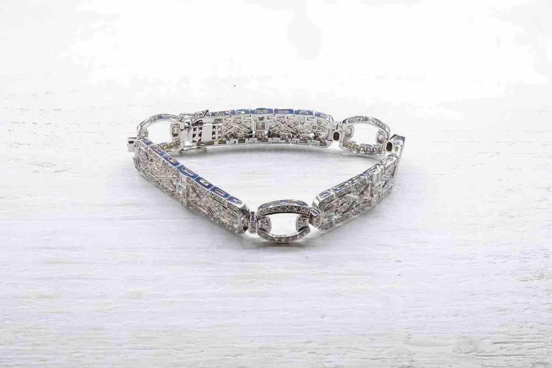 achat de bracelet art déco dimamants