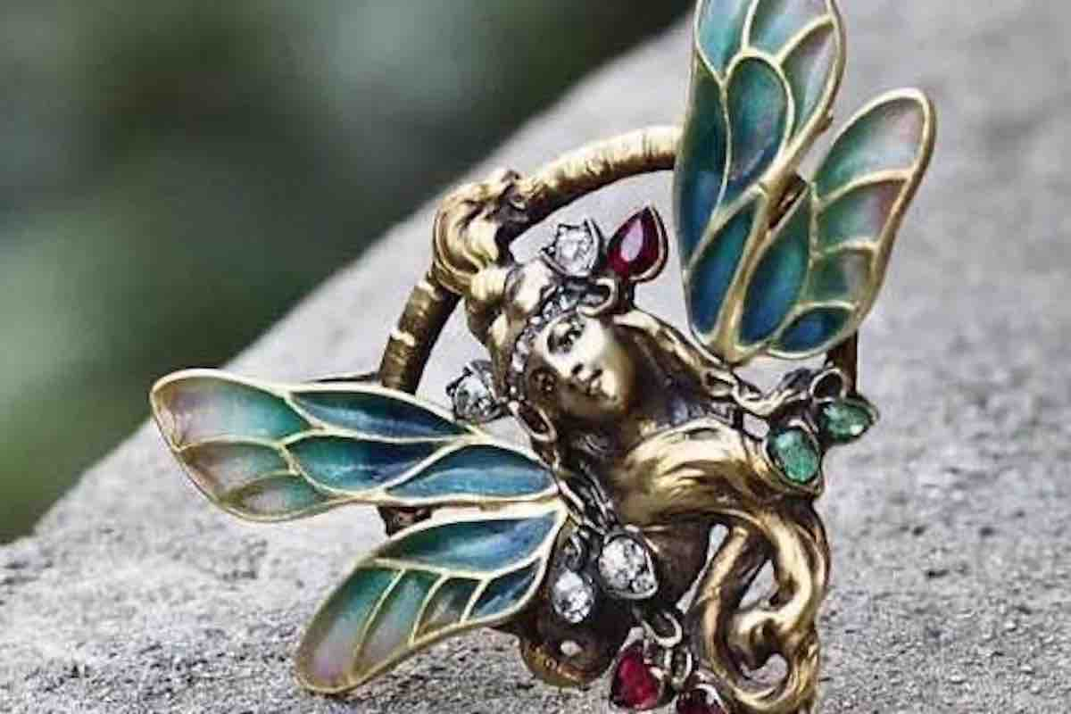 de bijoux art nouveau