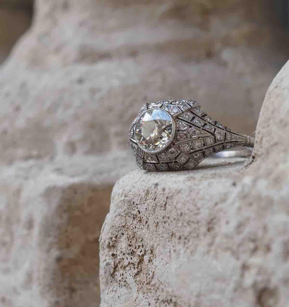 revendre bague ancienne diamants