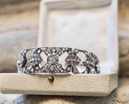 revendre bracelet diamants