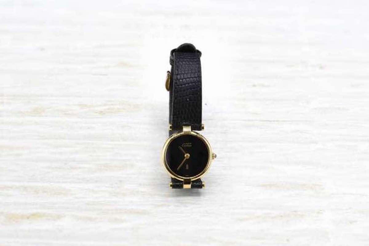 achat montre en or femme cartier