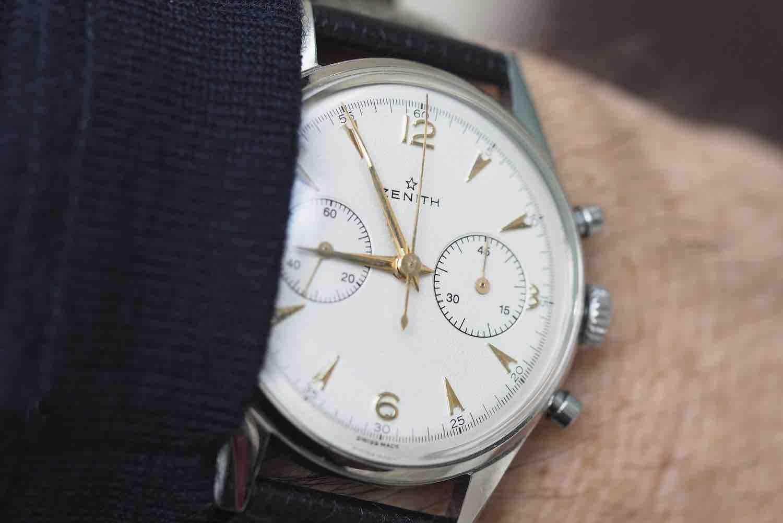 achat montre vintage zenith
