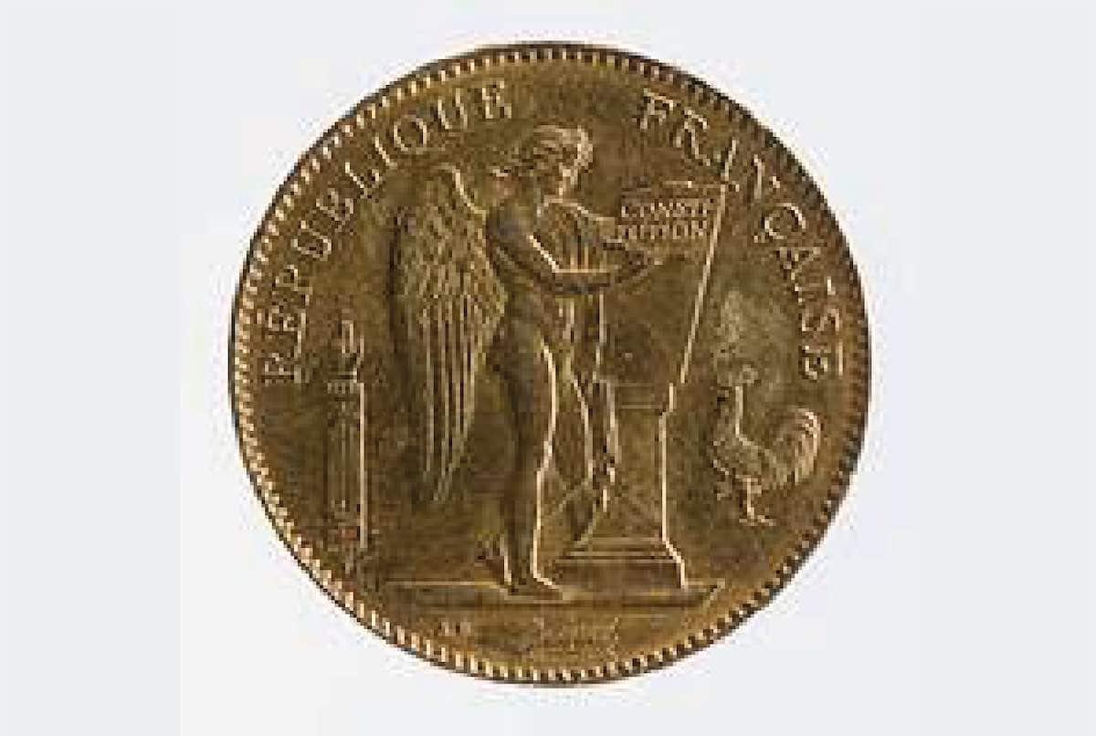 pièce en or sous napoléon