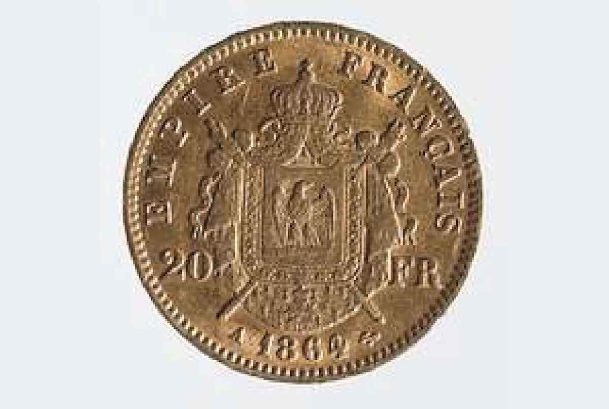 pièce napoléon en or 20 francs