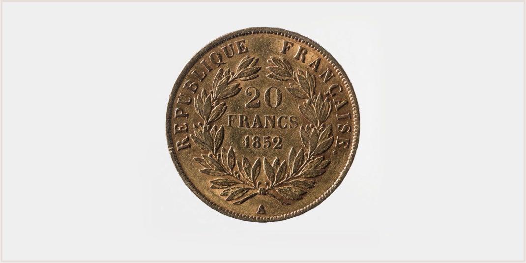 piece iconique 20 francs napoleon