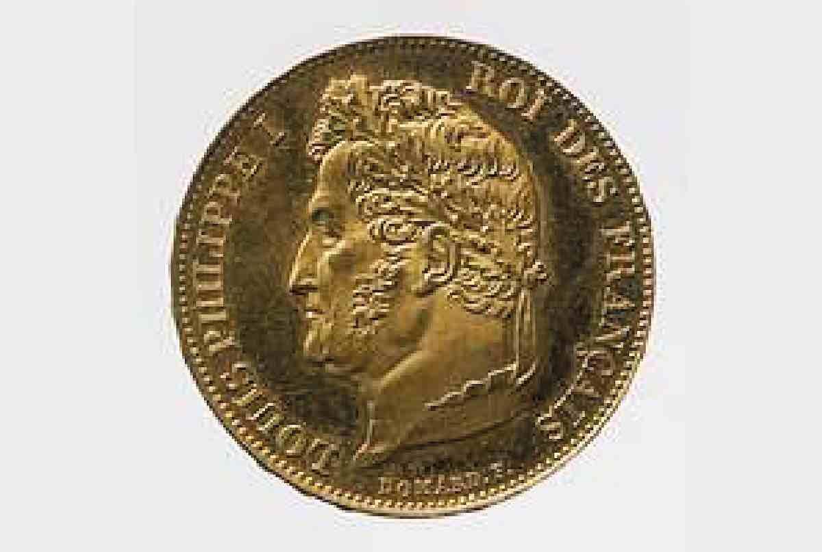vendre pièces en or visage roi