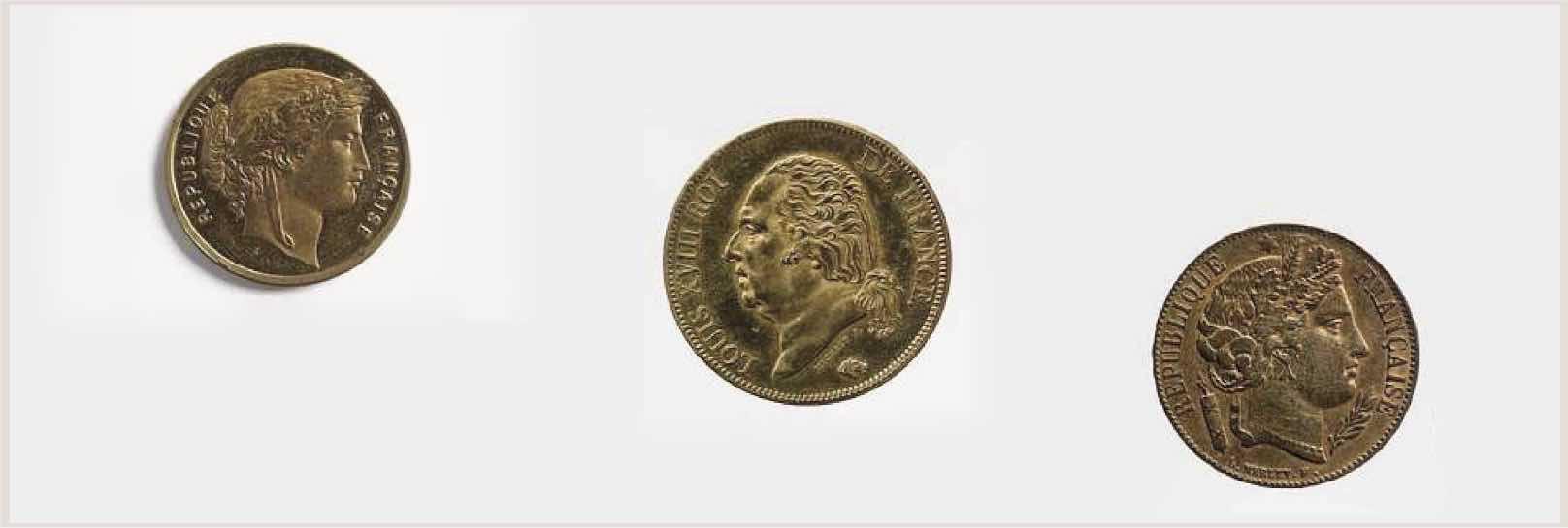 achat de pièces d'or anciennes