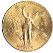 Pièces d'or , 50 pesos