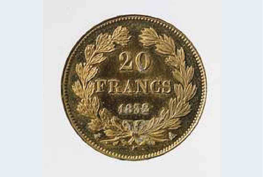 pieces napoléonienne 20 francs