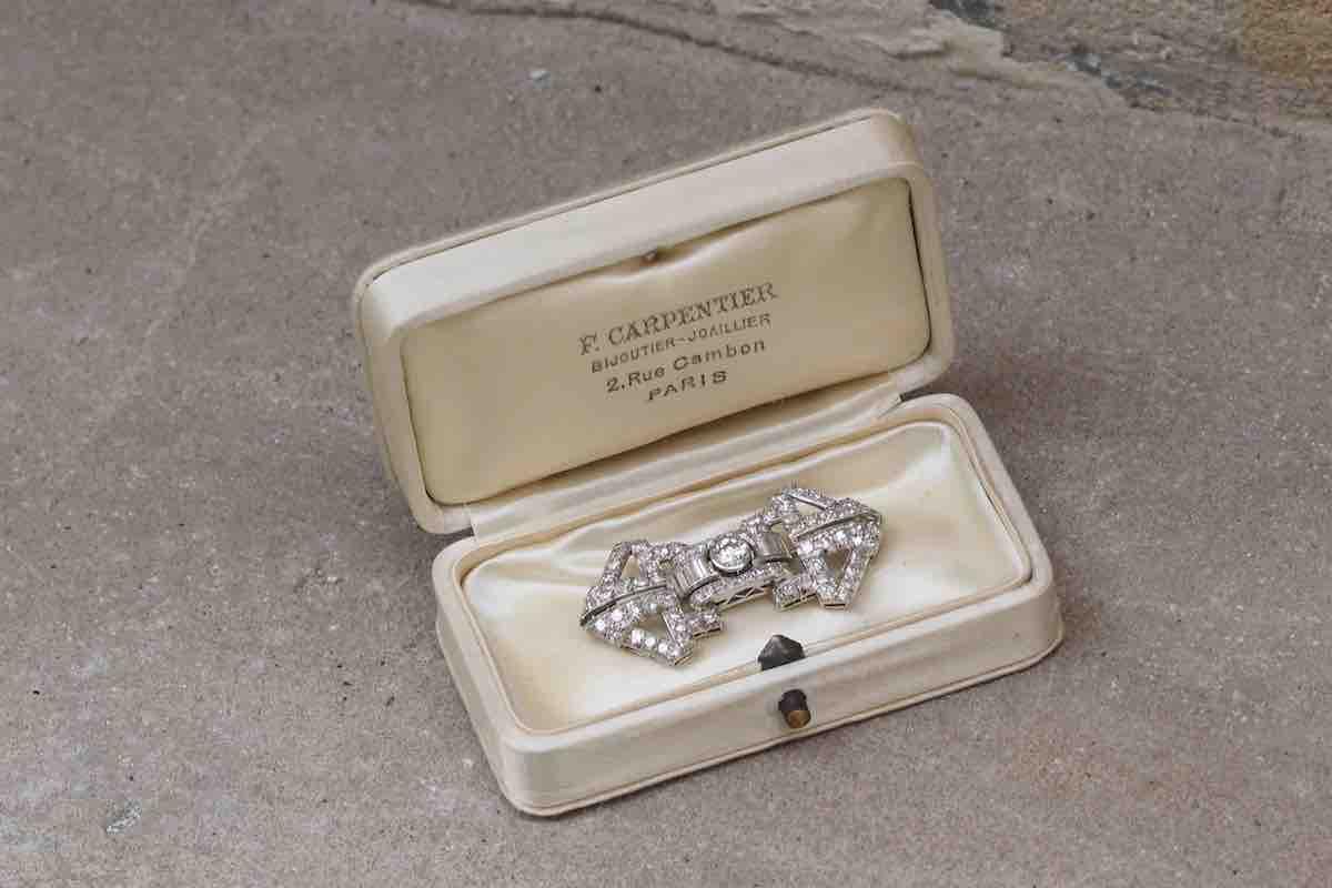 rachat broche ancienne diamants