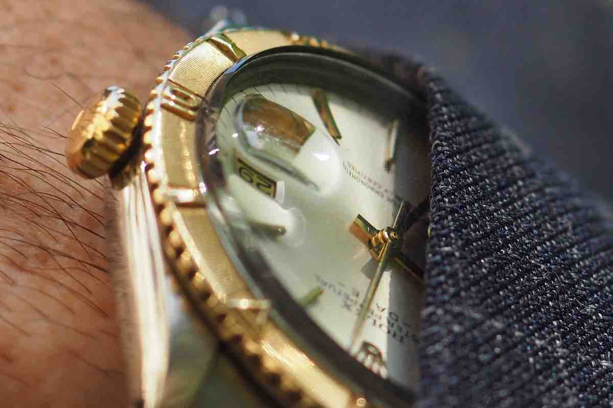 montre ancienne or 18k