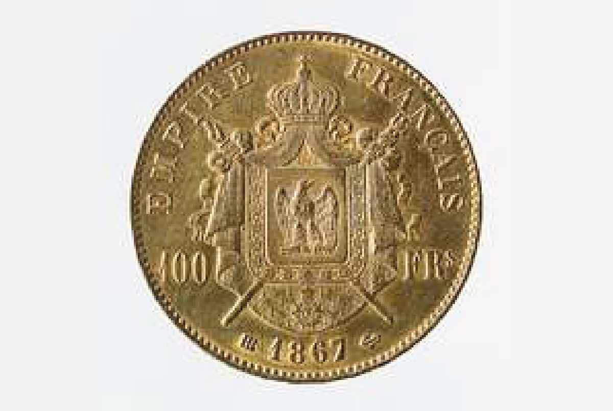 pièce en or époque napoleon