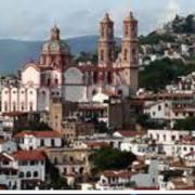 Ville de Taxco au Mexique, mines d'argent, ateliers de bijoux en argent