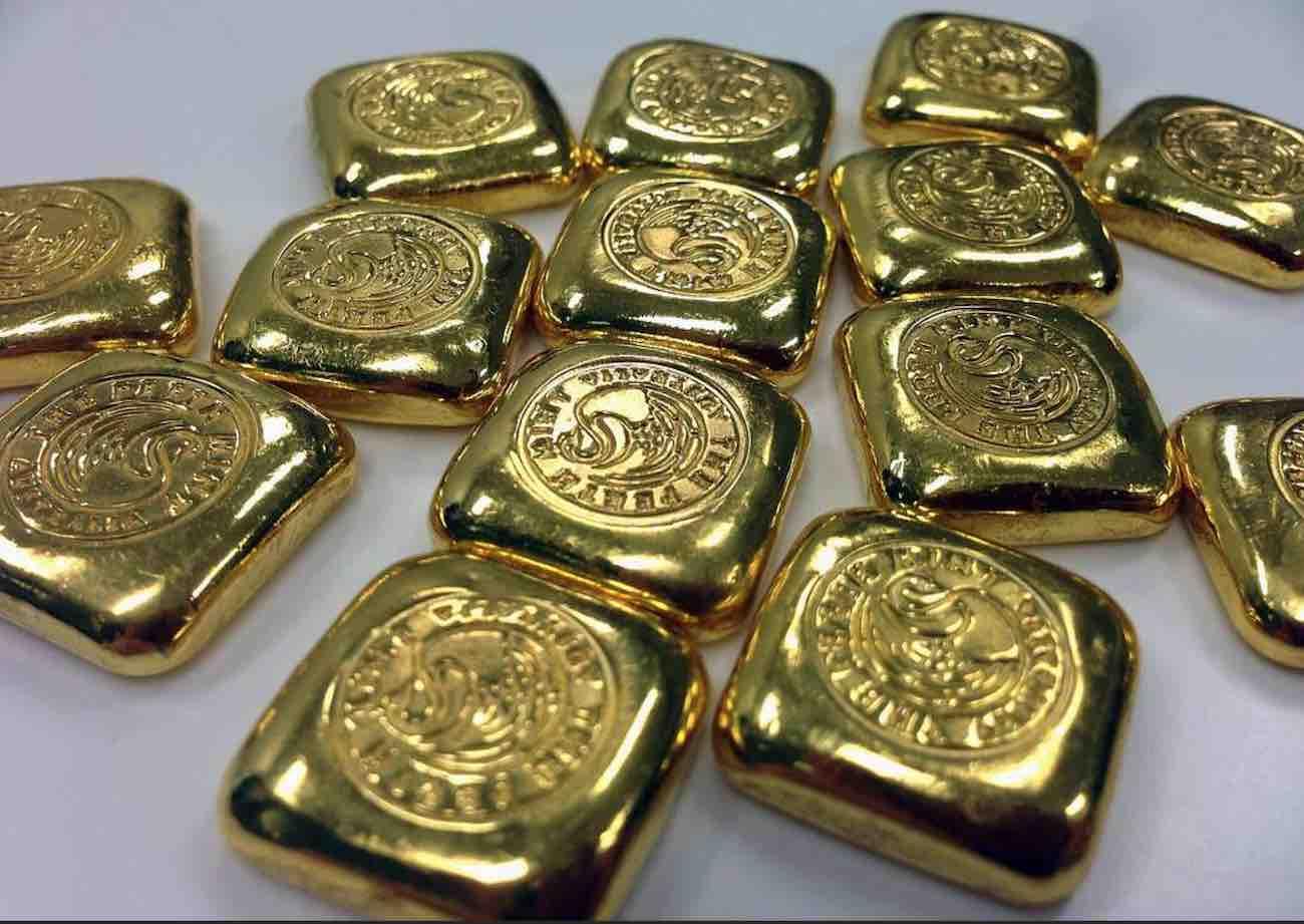 vendre lingotins et lingots en or