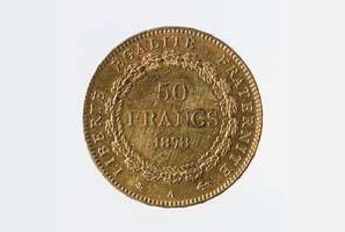 vendre pièce 50 anciens francs